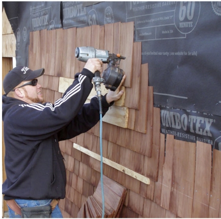 Siding With Cedar Shingles